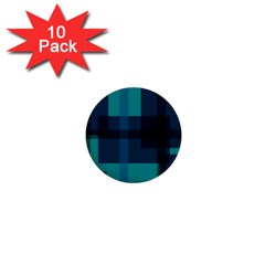 Boxes Abstractly 1  Mini Buttons (10 Pack)  by Amaryn4rt