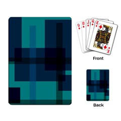 Boxes Abstractly Playing Card by Amaryn4rt