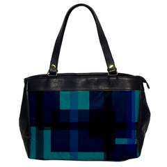Boxes Abstractly Office Handbags by Amaryn4rt