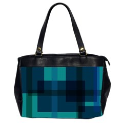 Boxes Abstractly Office Handbags (2 Sides)  by Amaryn4rt
