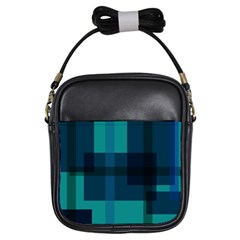 Boxes Abstractly Girls Sling Bags by Amaryn4rt