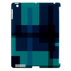Boxes Abstractly Apple Ipad 3/4 Hardshell Case (compatible With Smart Cover) by Amaryn4rt