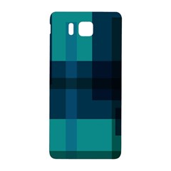 Boxes Abstractly Samsung Galaxy Alpha Hardshell Back Case by Amaryn4rt