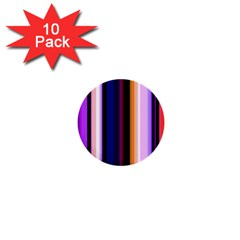 Fun Striped Background Design Pattern 1  Mini Buttons (10 Pack)  by Amaryn4rt
