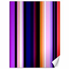 Fun Striped Background Design Pattern Canvas 36  X 48   by Amaryn4rt