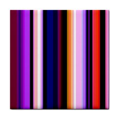 Fun Striped Background Design Pattern Face Towel by Amaryn4rt