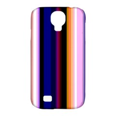 Fun Striped Background Design Pattern Samsung Galaxy S4 Classic Hardshell Case (pc+silicone) by Amaryn4rt