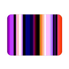 Fun Striped Background Design Pattern Double Sided Flano Blanket (mini)  by Amaryn4rt