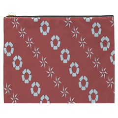 Abstract Pattern Background Wallpaper In Pastel Shapes Cosmetic Bag (xxxl)  by Amaryn4rt