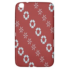 Abstract Pattern Background Wallpaper In Pastel Shapes Samsung Galaxy Tab 3 (8 ) T3100 Hardshell Case  by Amaryn4rt