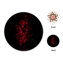 Background Scrapbooking Paper Playing Cards (round)
