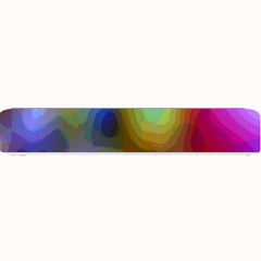 A Mix Of Colors In An Abstract Blend For A Background Small Bar Mats by Amaryn4rt
