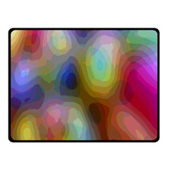 A Mix Of Colors In An Abstract Blend For A Background Fleece Blanket (small) by Amaryn4rt