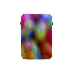 A Mix Of Colors In An Abstract Blend For A Background Apple Ipad Mini Protective Soft Cases by Amaryn4rt