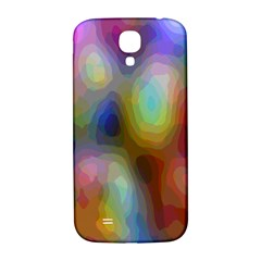 A Mix Of Colors In An Abstract Blend For A Background Samsung Galaxy S4 I9500/i9505  Hardshell Back Case by Amaryn4rt