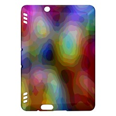 A Mix Of Colors In An Abstract Blend For A Background Kindle Fire Hdx Hardshell Case by Amaryn4rt
