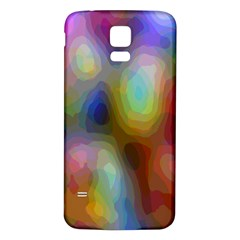 A Mix Of Colors In An Abstract Blend For A Background Samsung Galaxy S5 Back Case (white) by Amaryn4rt