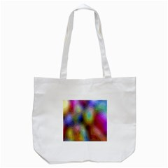 A Mix Of Colors In An Abstract Blend For A Background Tote Bag (white) by Amaryn4rt