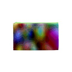 A Mix Of Colors In An Abstract Blend For A Background Cosmetic Bag (xs) by Amaryn4rt