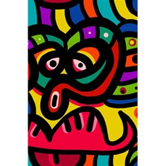 A Seamless Crazy Face Doodle Pattern 5 5  X 8 5  Notebooks by Amaryn4rt
