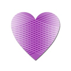 Abstract Lines Background Heart Magnet by Amaryn4rt