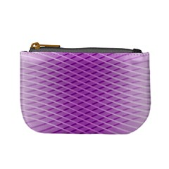 Abstract Lines Background Mini Coin Purses