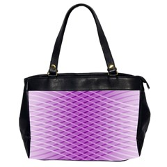 Abstract Lines Background Office Handbags (2 Sides)  by Amaryn4rt