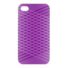 Abstract Lines Background Apple Iphone 4/4s Premium Hardshell Case by Amaryn4rt