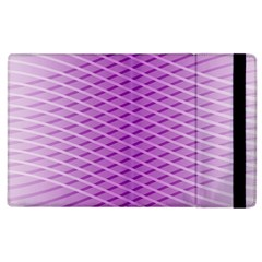Abstract Lines Background Apple Ipad 2 Flip Case by Amaryn4rt