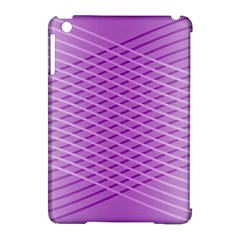 Abstract Lines Background Apple Ipad Mini Hardshell Case (compatible With Smart Cover) by Amaryn4rt