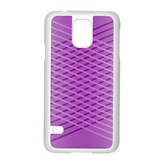 Abstract Lines Background Samsung Galaxy S5 Case (white) by Amaryn4rt