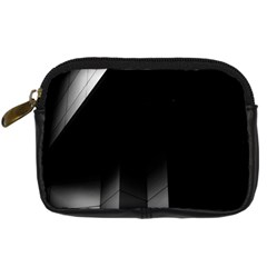 Wall White Black Abstract Digital Camera Cases by Amaryn4rt