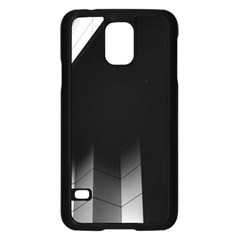 Wall White Black Abstract Samsung Galaxy S5 Case (black) by Amaryn4rt