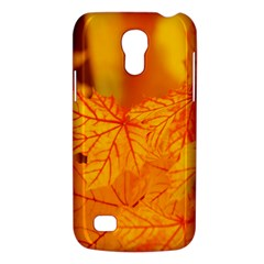 Bright Yellow Autumn Leaves Galaxy S4 Mini by Amaryn4rt