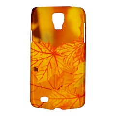 Bright Yellow Autumn Leaves Galaxy S4 Active by Amaryn4rt