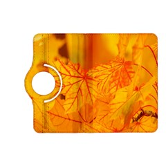 Bright Yellow Autumn Leaves Kindle Fire Hd (2013) Flip 360 Case by Amaryn4rt