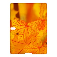 Bright Yellow Autumn Leaves Samsung Galaxy Tab S (10 5 ) Hardshell Case  by Amaryn4rt