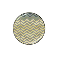 Abstract Vintage Lines Hat Clip Ball Marker (4 Pack) by Amaryn4rt