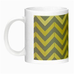 Abstract Vintage Lines Night Luminous Mugs by Amaryn4rt