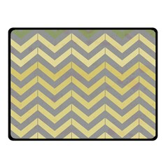 Abstract Vintage Lines Fleece Blanket (small)