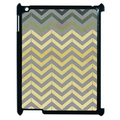 Abstract Vintage Lines Apple Ipad 2 Case (black) by Amaryn4rt