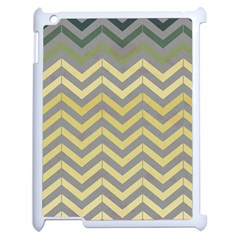 Abstract Vintage Lines Apple Ipad 2 Case (white) by Amaryn4rt