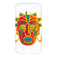 Mask Samsung Galaxy S4 I9500/i9505 Hardshell Case by Valentinaart