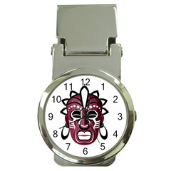 Mask Money Clip Watches by Valentinaart