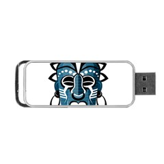 Mask Portable Usb Flash (one Side) by Valentinaart