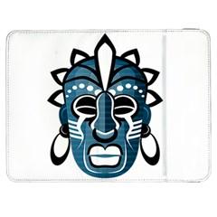 Mask Samsung Galaxy Tab 7  P1000 Flip Case by Valentinaart