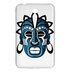 Mask Samsung Galaxy Tab 3 (7 ) P3200 Hardshell Case  by Valentinaart