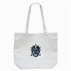 Mask Tote Bag (white) by Valentinaart