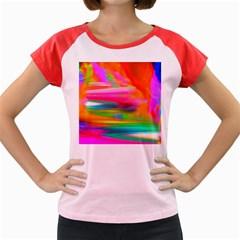 Abstract Illustration Nameless Fantasy Women s Cap Sleeve T Shirt