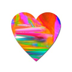 Abstract Illustration Nameless Fantasy Heart Magnet by Amaryn4rt